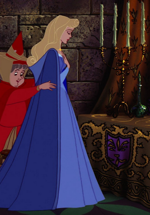 *FLORA & AURORA ~ Sleeping Beauty (1959)