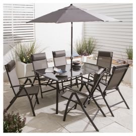 buy roma metal garden furniture set 8 piece from our metal garden furniture range