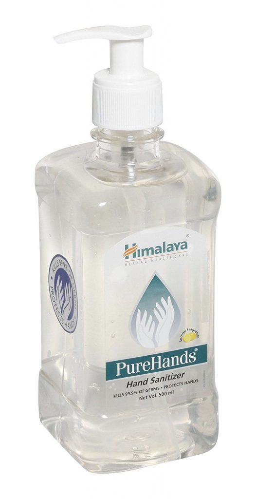 Himalaya Purehands Hand Sanitizer 500ml At Rs 255 From Amazon