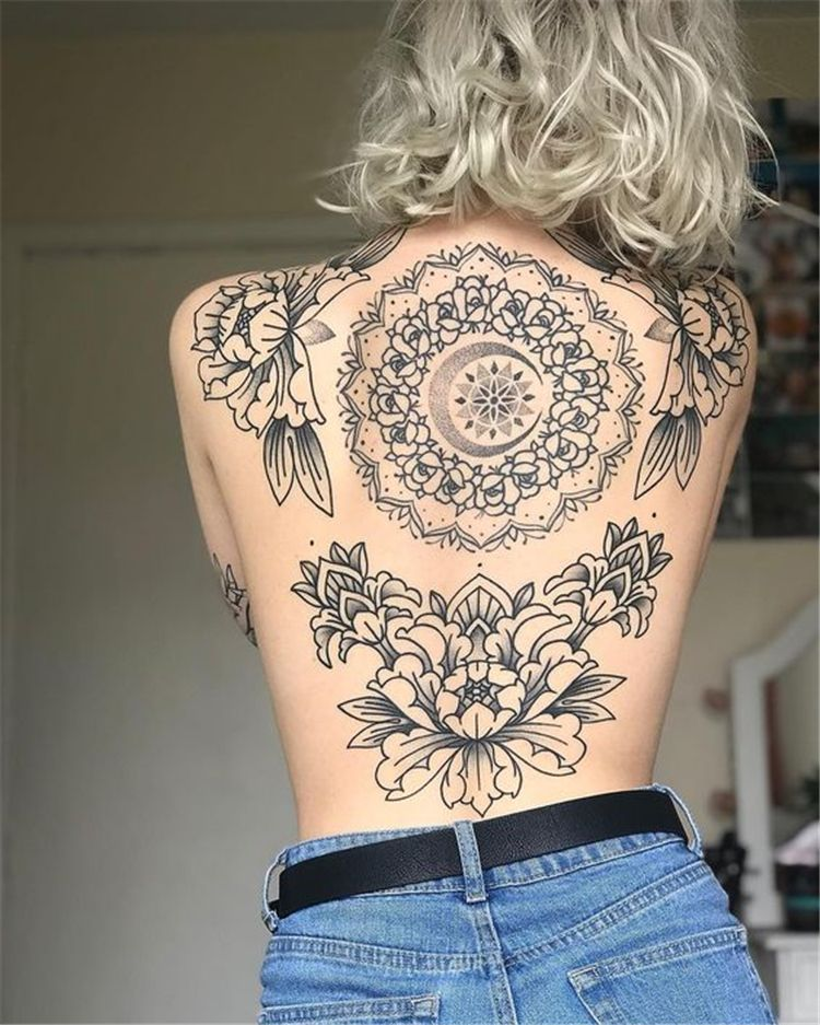 Photo of 40 Cool And Amazing Back Tattoo Designs You Want To Show Off In Summer – Page 20…
