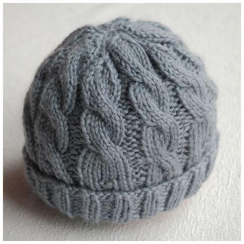 Little Acorn Cable Knit Hat Pattern Baby Hats Knitting Baby Hat Knitting Pattern