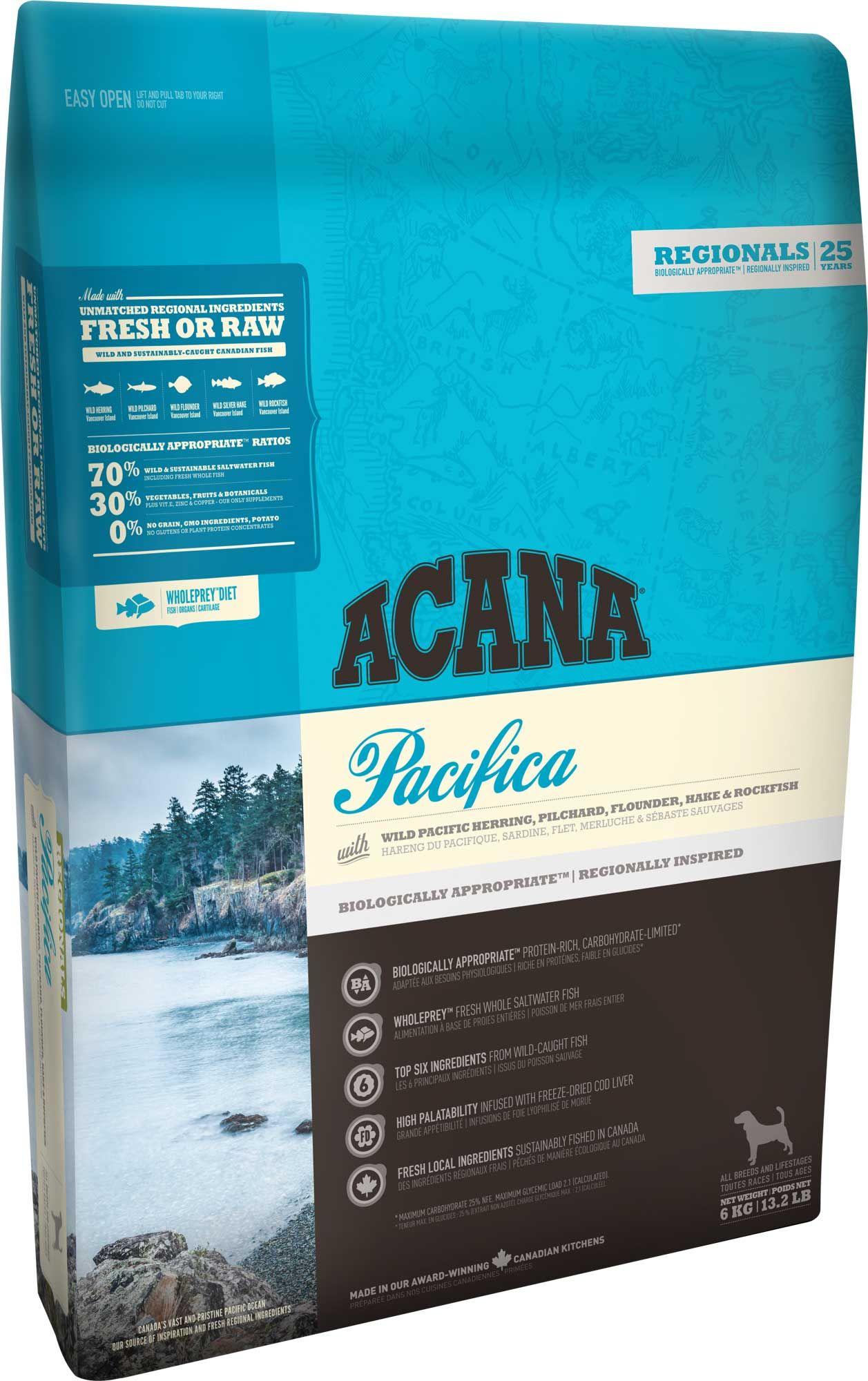 Pacifica Acana Pet Foods Dog Food Recipes Dry Dog Food Dog