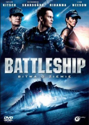 """Battleship - Bitwa o Ziemię"", reż. Peter Berg, scen. Jon Hoeber, Erich Hoeber. Obsada: Taylor Kitsch, Alexander Skarsgård, Rihanna, Liam Neeson. 126 min."