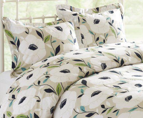 Echo Pop Poppy Twin Comforter Set By Echo 79 99 72 By 90 Inch