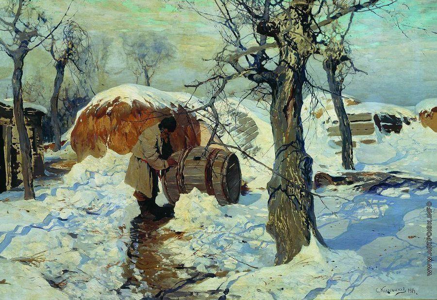 Колесников (Одесский) Степан Федорович [1879—1955] Весна. Март. 1914