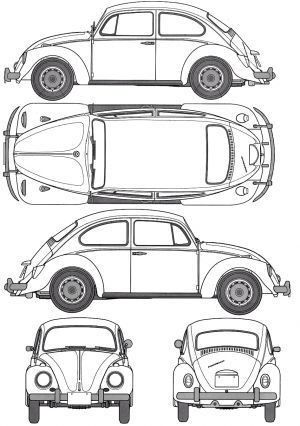Orthographic drawing of car Rosalia Febyola Puspita Hadi, kelas 1 - best of car blueprint in hd