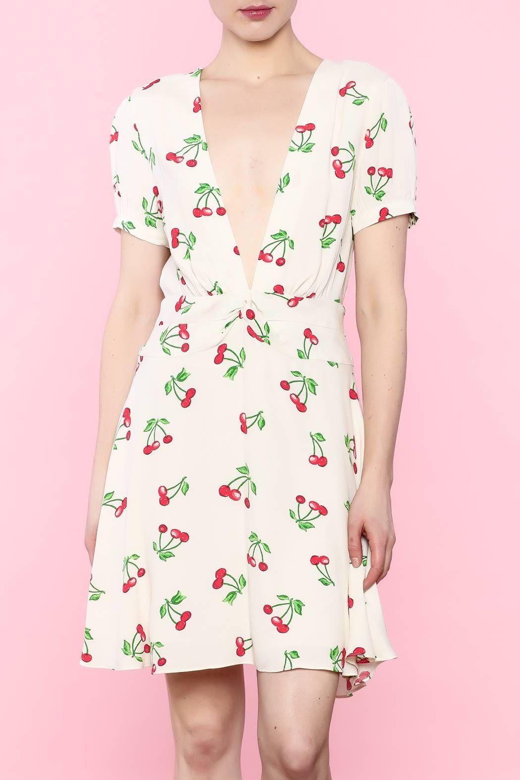Privacy Please Wimar Cherries Dress | Moda actual