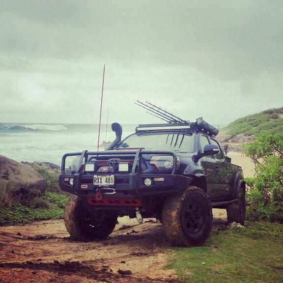 The Hawaiian fishing truck