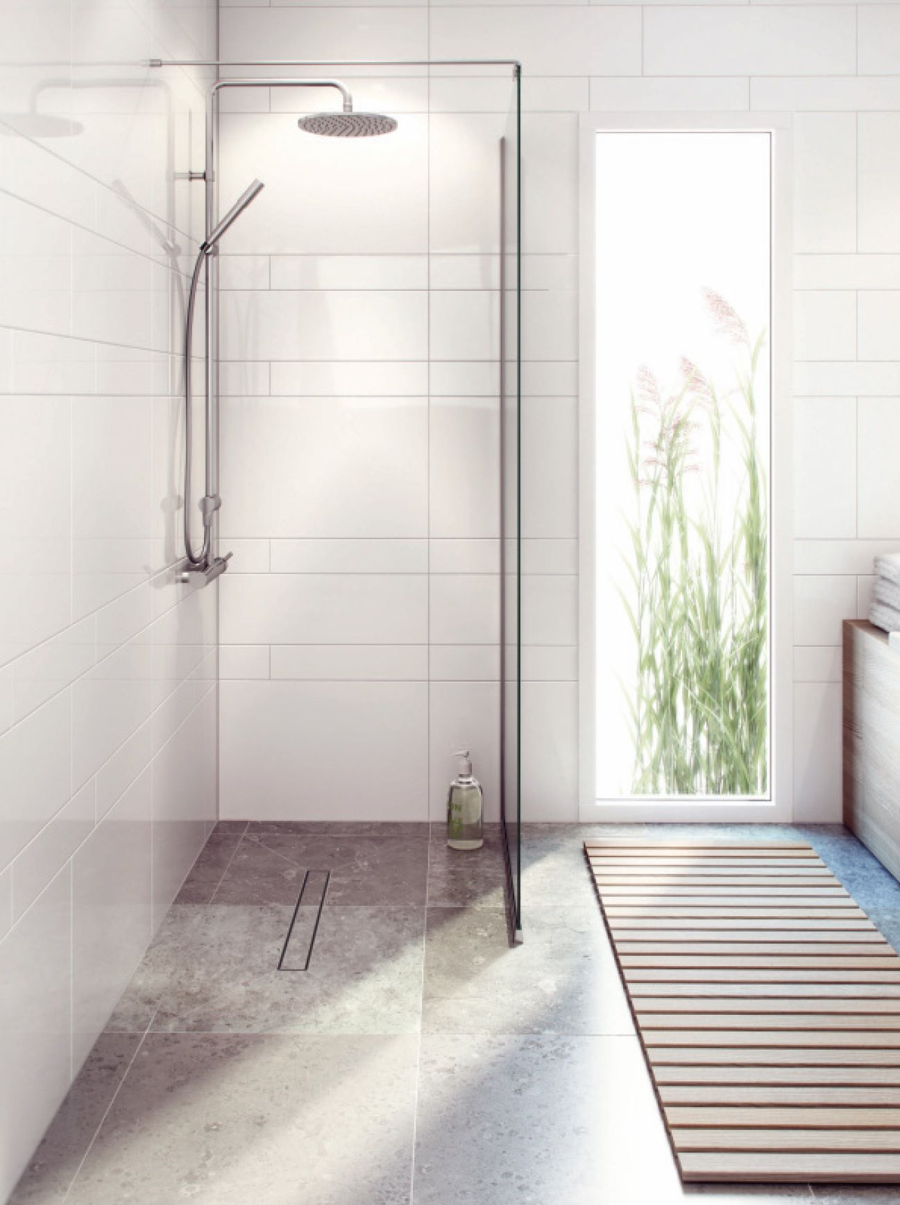 Wet Room Ideas With A Scandinavian Touch Using The 4k