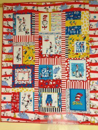 Dr Seuss quilt | Quilts | Pinterest | Church banners and Craft : dr suess quilt - Adamdwight.com