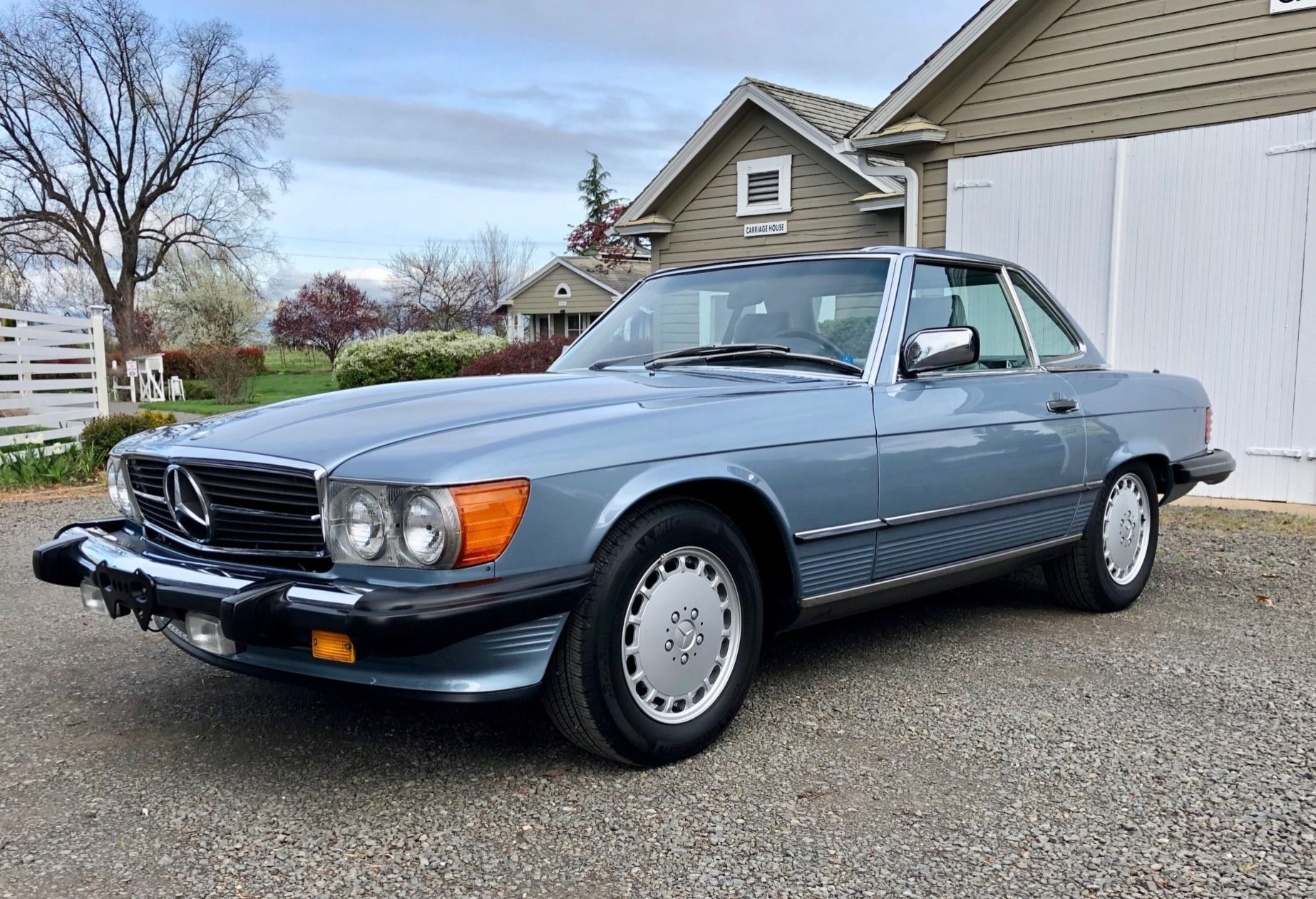 Crown Motors Redding >> This 1986 Mercedes Benz 560sl Was Purchased New At Crown