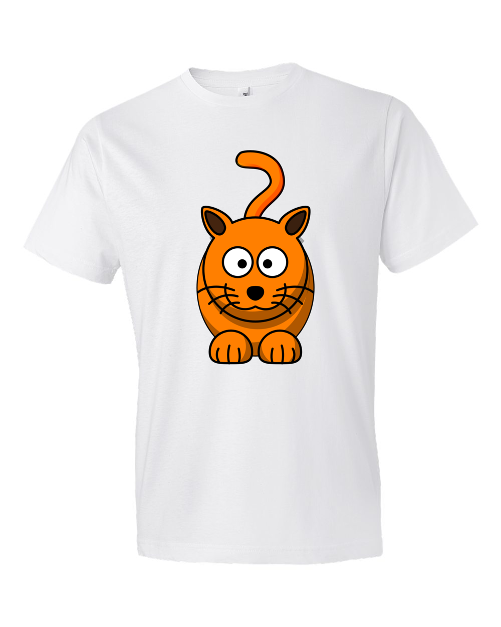 Cat Lightweight Fashion Short Sleeve T-Shirt by iTEE.com