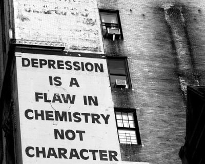 Depression is a flaw in chemistry, not character.  | Holotapes