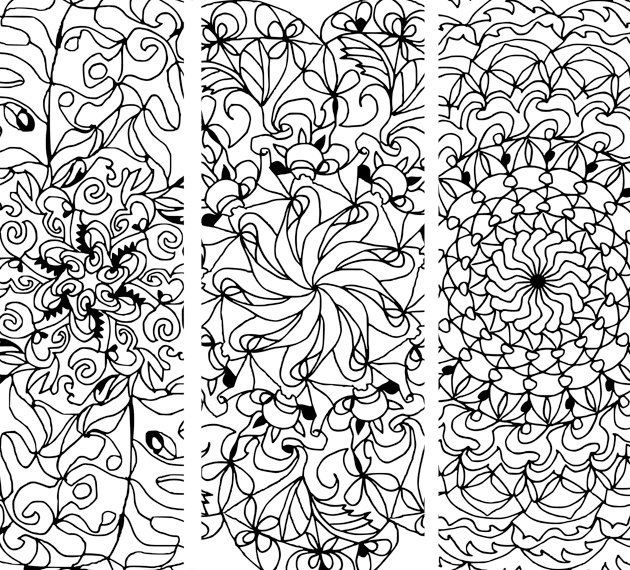 Mandala Coloring Book Art Therapy Printable Floral Mandala Clipart