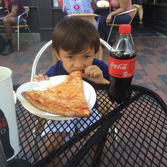 #Pizza #bigassslices #Philadelphia