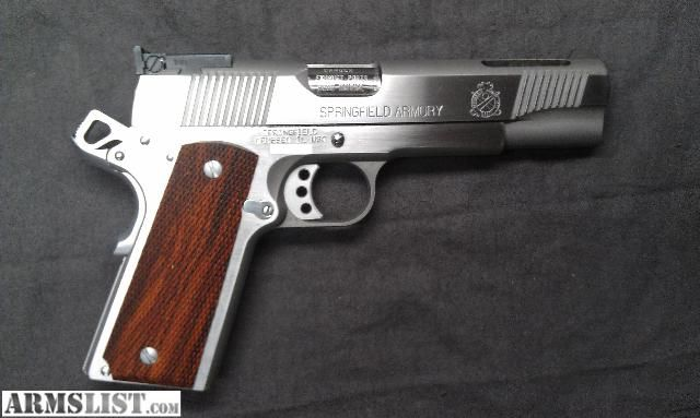 ARMSLIST - For Sale: Springfield 1911-A1 V12 Loaded