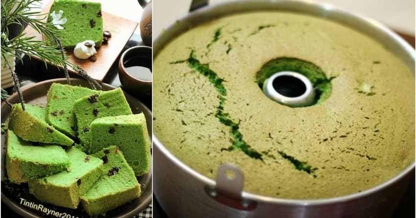 Resep Chiffon Green Tea Matcha Soft And Moist Setelah Kemaren Sempet Menduakan Cinta Pertamaku Chiffon Cake Dengan Si K Resep Matcha Makanan Penutup Jepang