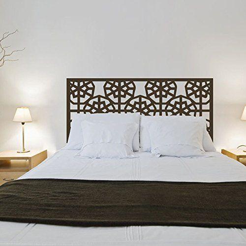 Abstract Wall Decal Headboard Geometric Dorm Decor Shabby