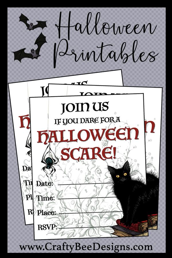 Printable Halloween Party Invitation Printable Halloween Party Invitations Printable Halloween Invitations Halloween Party Printables
