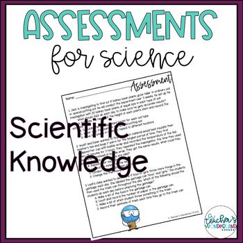 Science Assessments - 5.N.1.1 | Elementary science ...