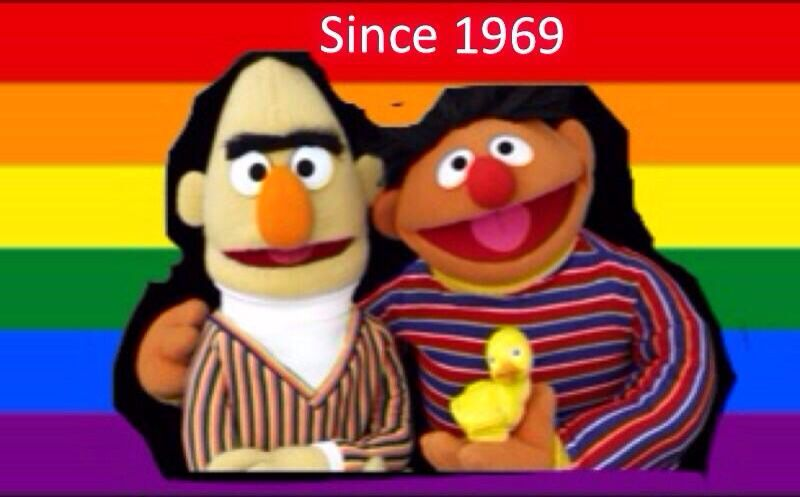 from Bowen is bert and earnie gay