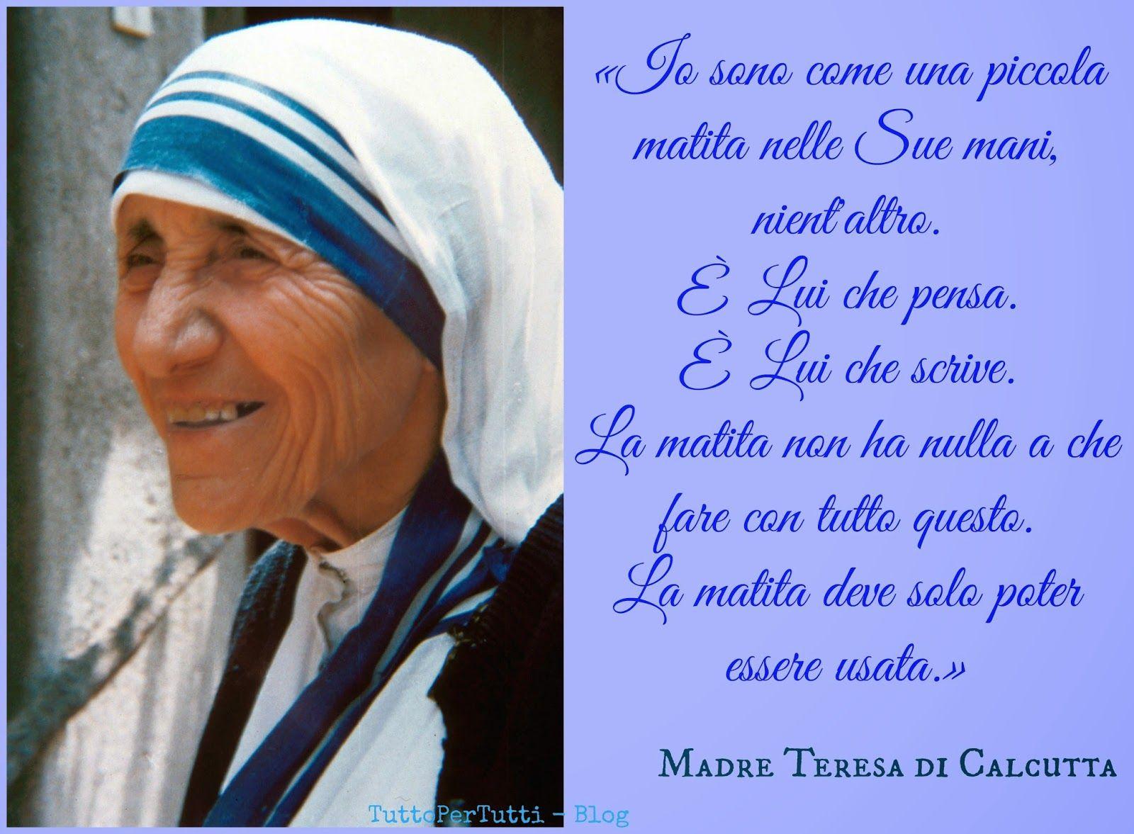 Fabuleux Tutto Per Tutti: MADRE TERESA DI CALCUTTA (Skopje, 26 agosto 1910  AL44