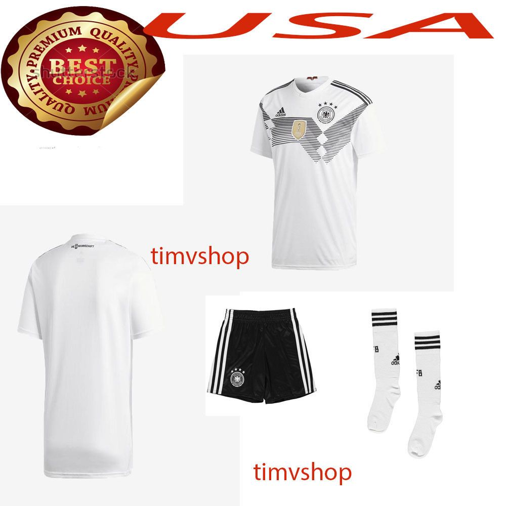 0ebcd0967c3 World Cup 2018 18 Fifa Germany Kid Jersey Kit   Shirt Short Socks Discount  Price 41.99 Free Shipping Buy it Now