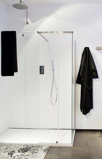 Oferta mampara de ducha On_Off y plato de ducha OX de Antonio Lupi ...