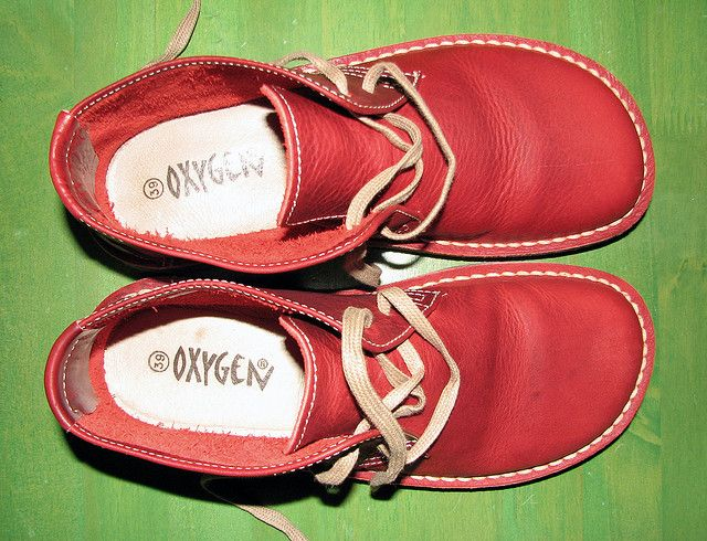 Oxygen RED shoes
