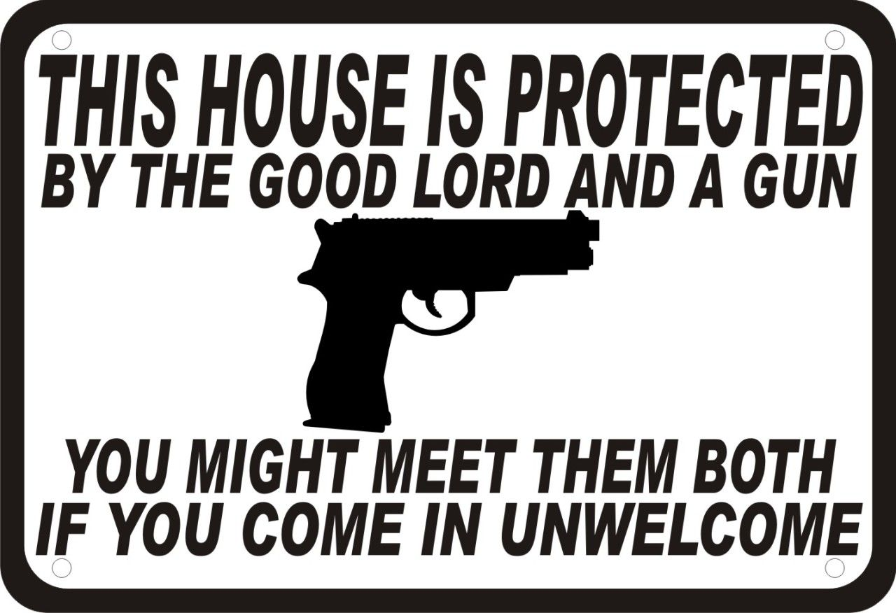 Pro Gun Quotes The Lord Is My Security .protectedthe Good Lord.a