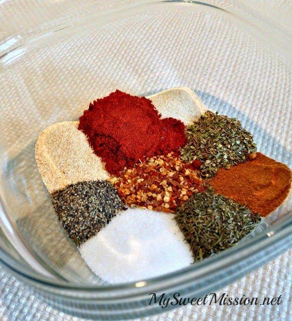 Cajun Spice Mix #cajundishes