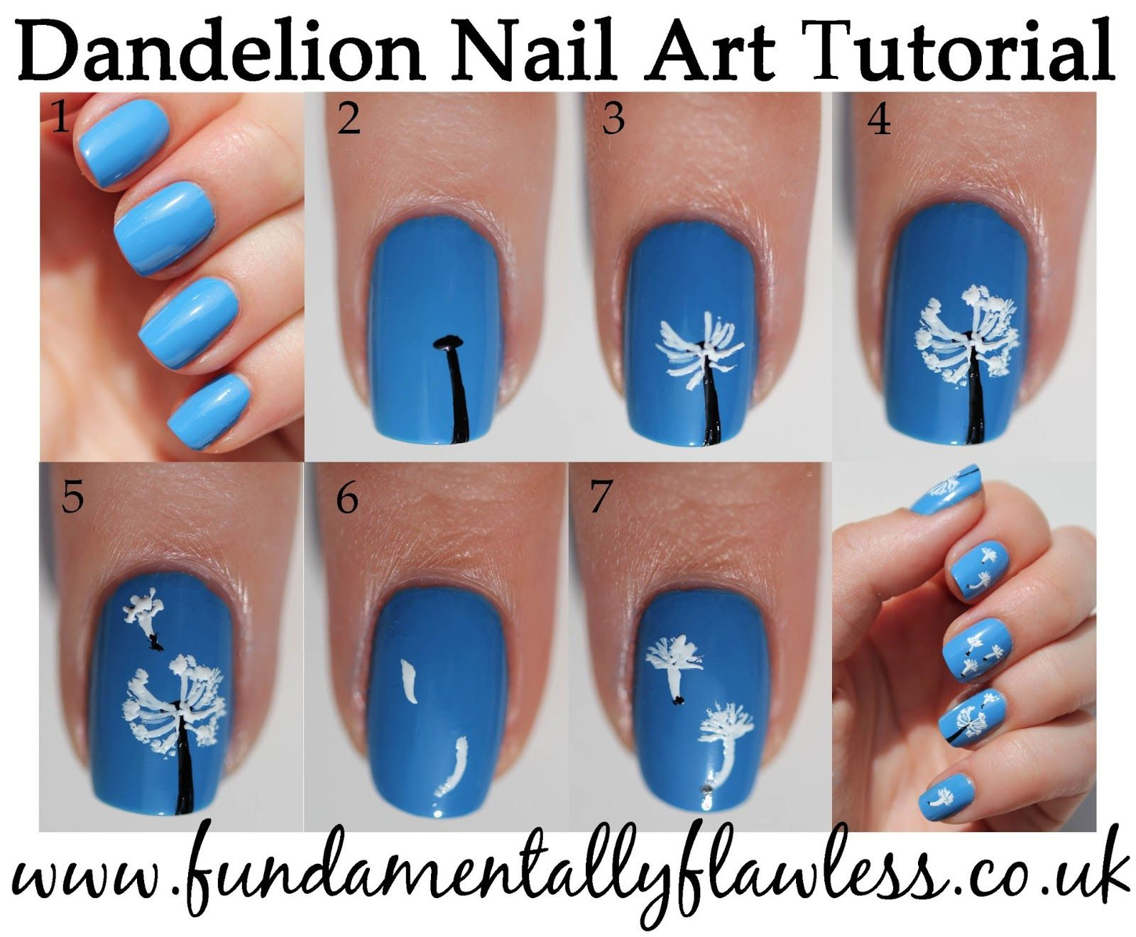 Spring Nail Art Tutorials For Women Met Afbeeldingen Nailart