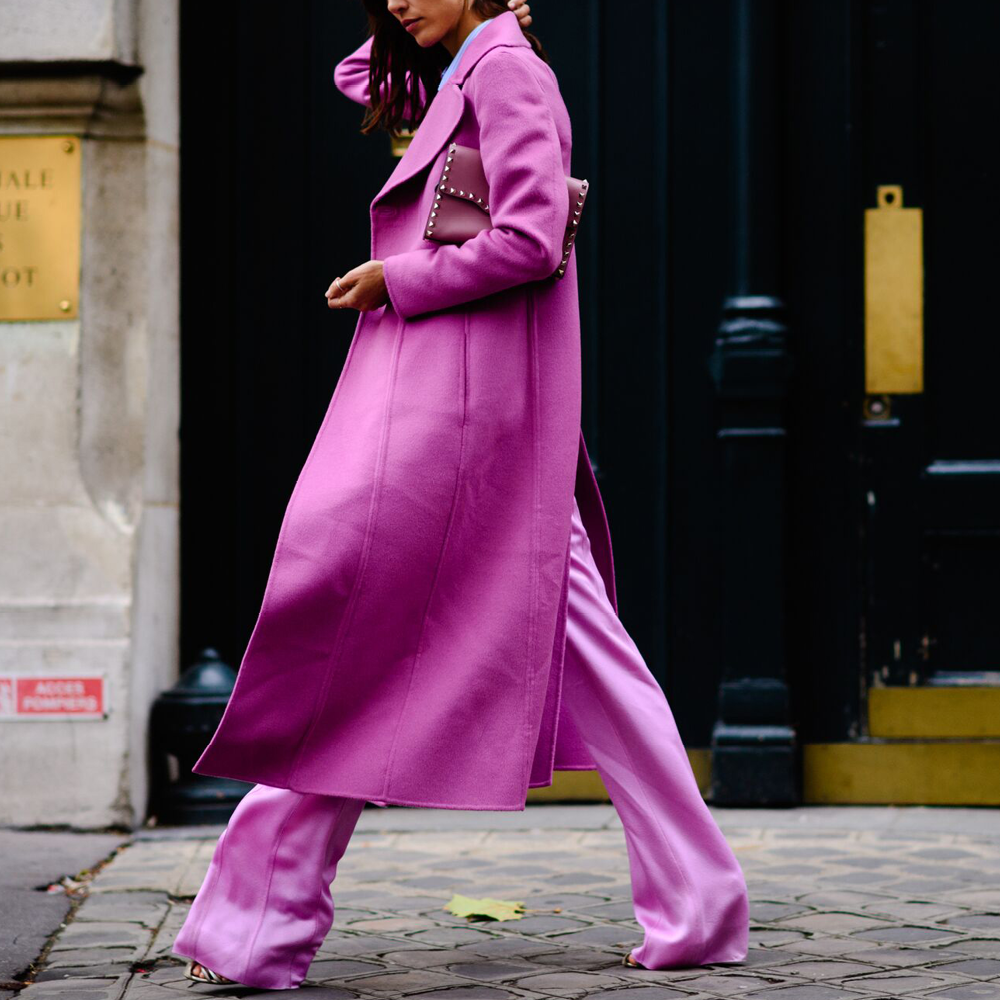 Make Like The #streetstyle Stars And Wear Vibrant Matching
