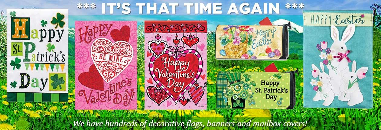 Garden Flags Wholesale Flag Decor Garden Flags Mailbox Covers