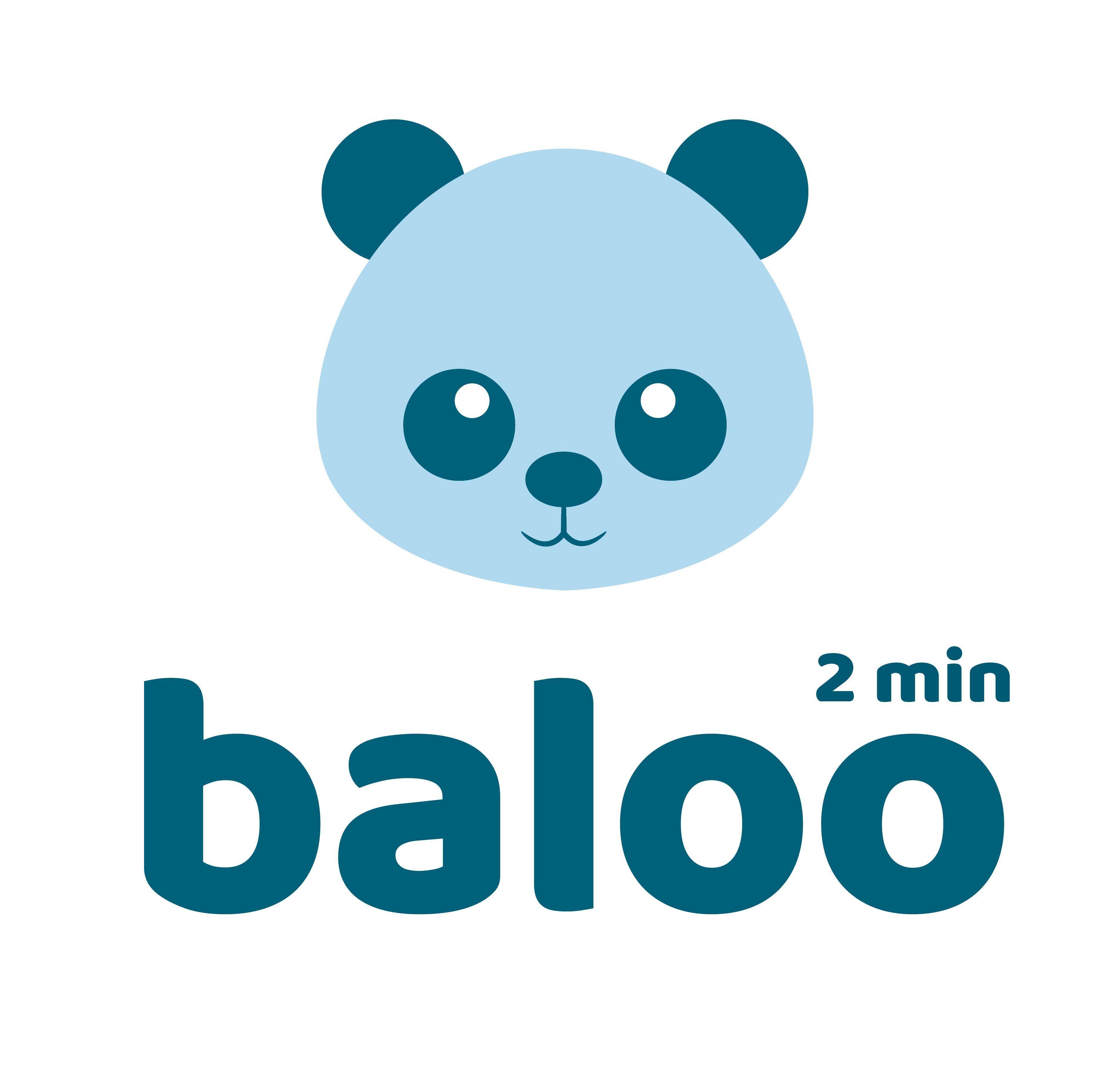 Oso Azul Logo Baloo Canal De Youtube Balootv Canal Familia Baloo Youtu Youtube Logos Canal