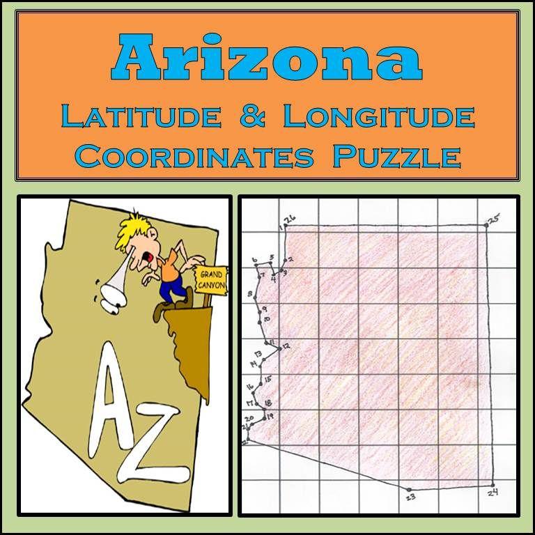 Arizona Longitude And Latitude
