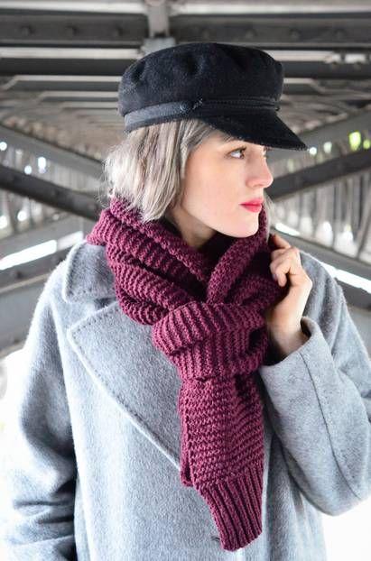 Die 15 schönsten Arten, einen Schal zu tragen #bonnets