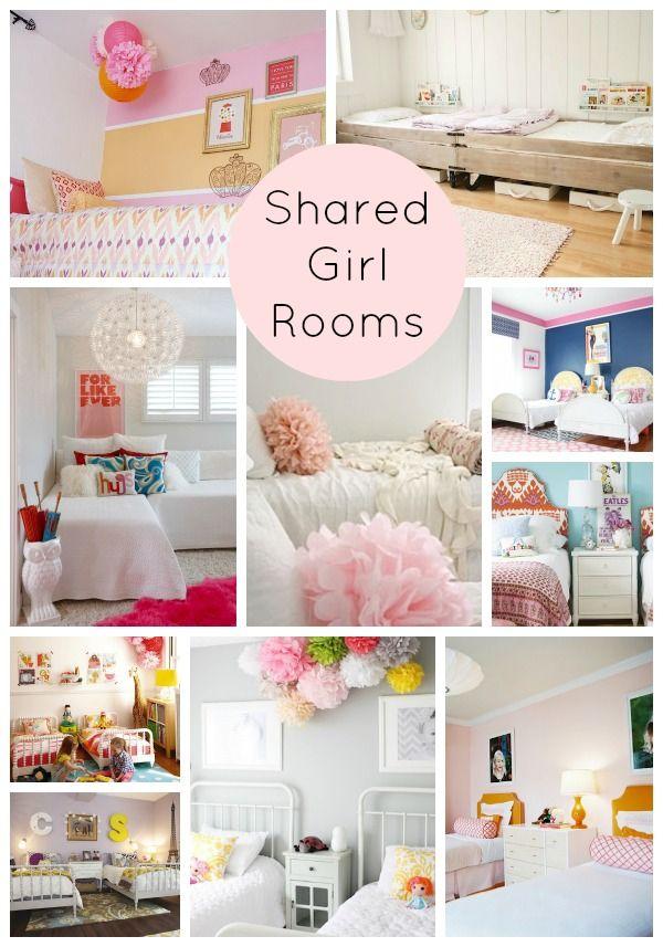 be still my heart: 10 best shared girls rooms | big girl rooms