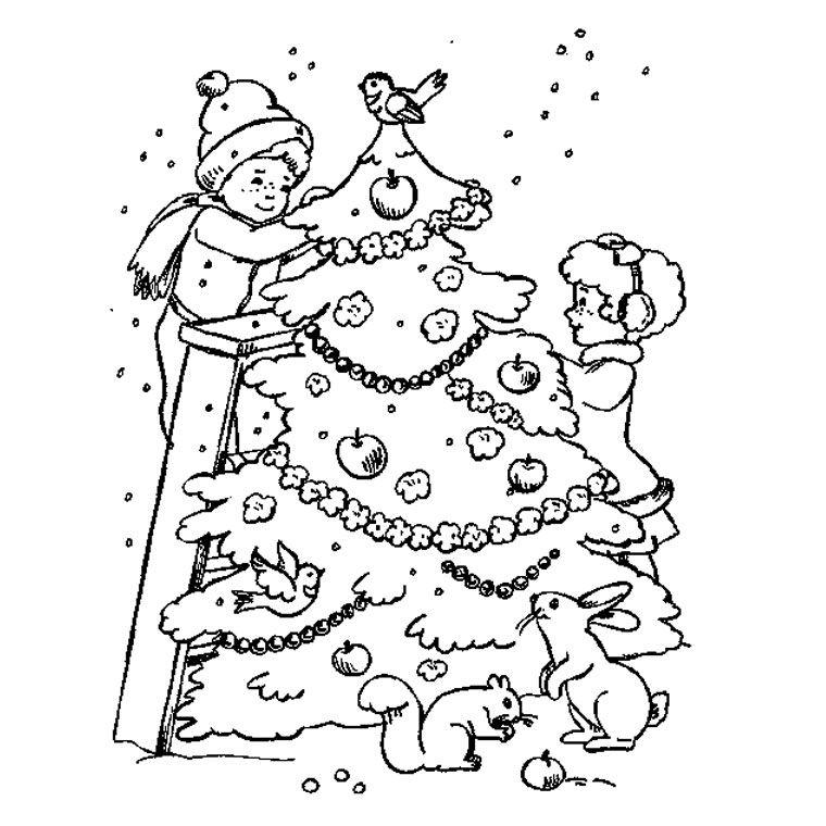 Coloriage sapin no l gratuit a imprimer gratuit coloriage hiver pinterest coloriage sapin - Dessin de noel pour enfant ...