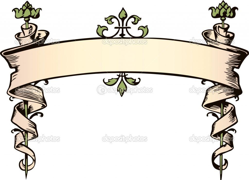 Victorian Filigree Line Drawing