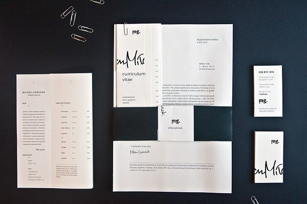 Design Student Creatively Turns His Portfolio Into A Simple ...