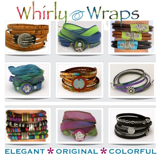 Whirly Wraps on Farmers Market Finds  @WhirlyWraps #WhirlyWraps #Original #Colorful #Bracelet #Handmade #FarmersMarket #Shop