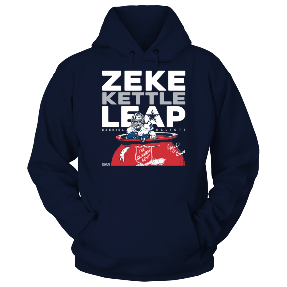 Ezekiel Elliott Zeke Kettle Leap TShirt Ezekiel Elliott