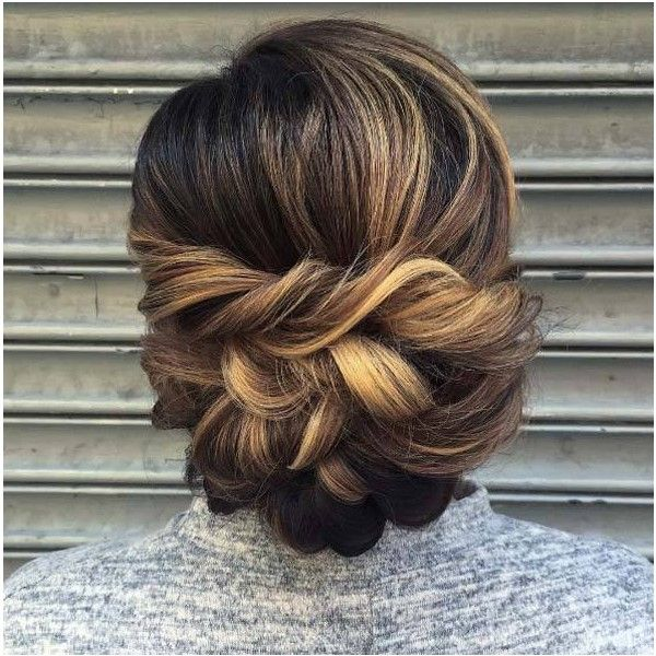 50 Amazing Updos For Medium Length Hair Style Skinner Via Polyvore Featuring Accessories Hair Accessori Hair Styles Long Hair Styles Medium Length Hair Styles