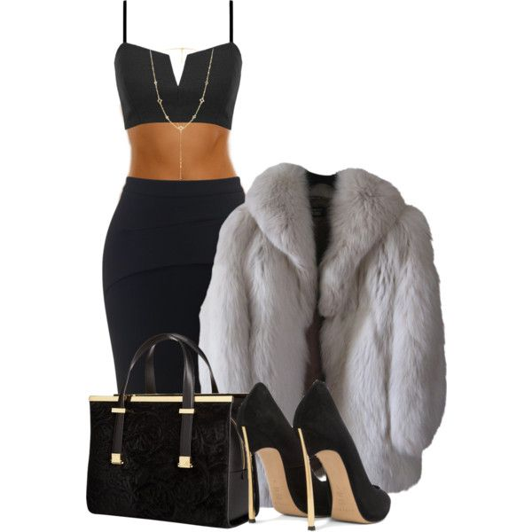 4/20/15 by krystleduhh on Polyvore featuring polyvore, fashion, style, Maticevski, Casadei, Ted Baker, David Yurman and Chan Luu