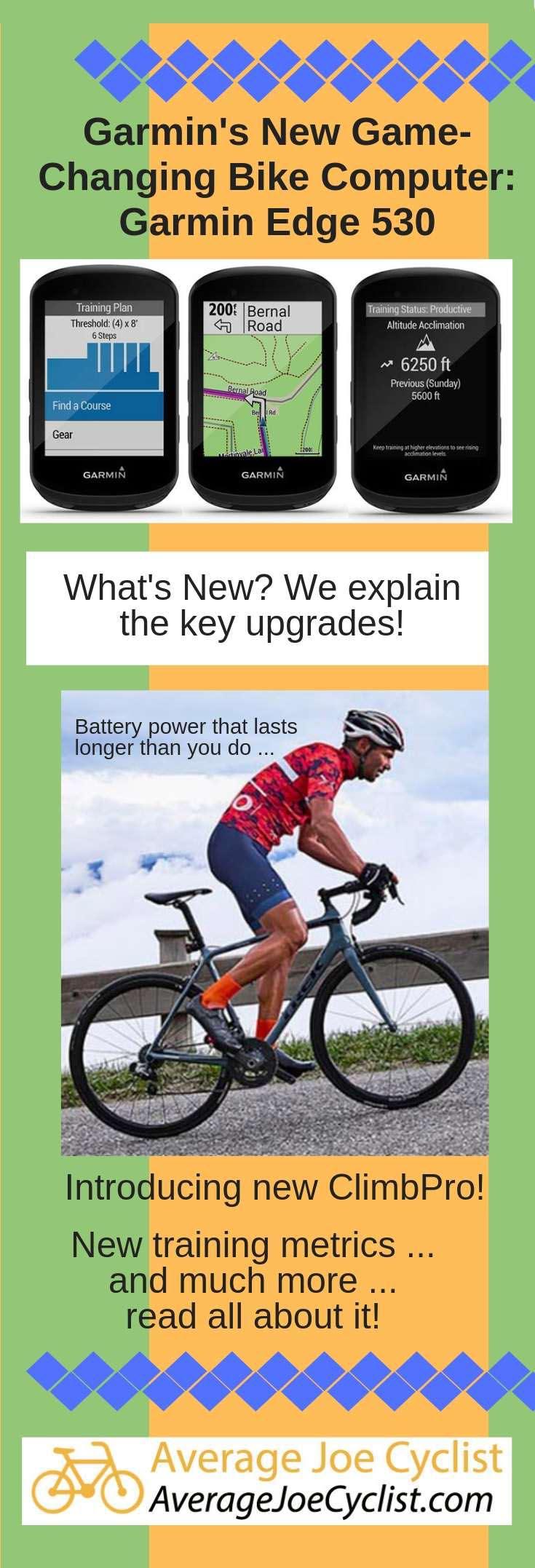 9 Great Upgrades In The New Garmin Edge 530 Garmin S Game
