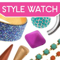 Style Watch Boutique at www.beadaholique.com - Shop noodle beads, neon, shambhala and other on-trend components for #beading and #DIY #jewelry-making.