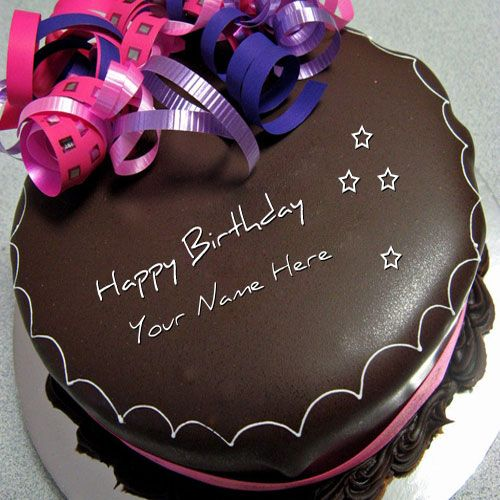 Happy birthday chocolate cake with name edit noor pinterest happy birthday chocolate cake with name edit publicscrutiny Image collections