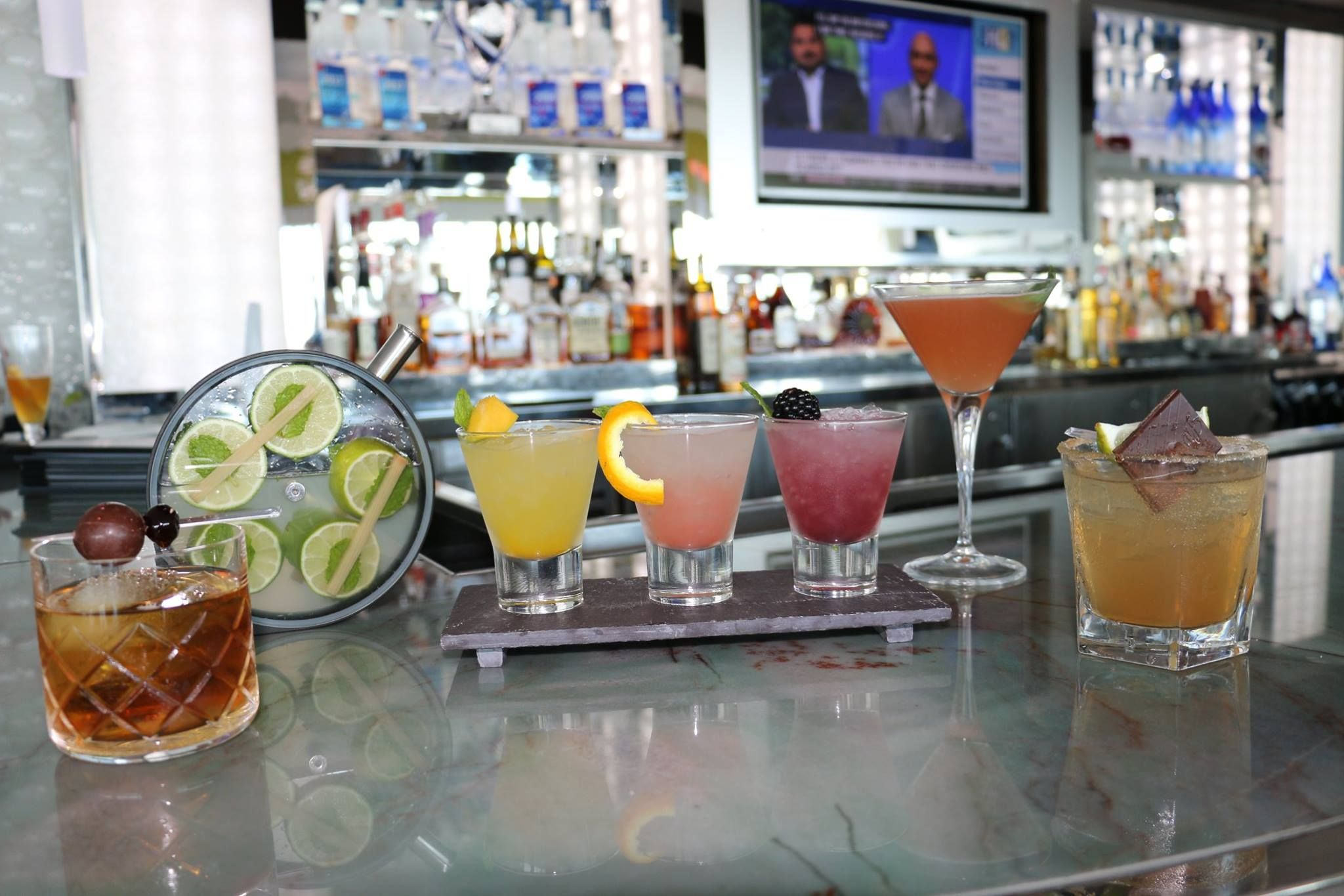 Sip On New Fall Tails At Chart House Atlantic City The Mojito Flight Is Our Personal Favorite