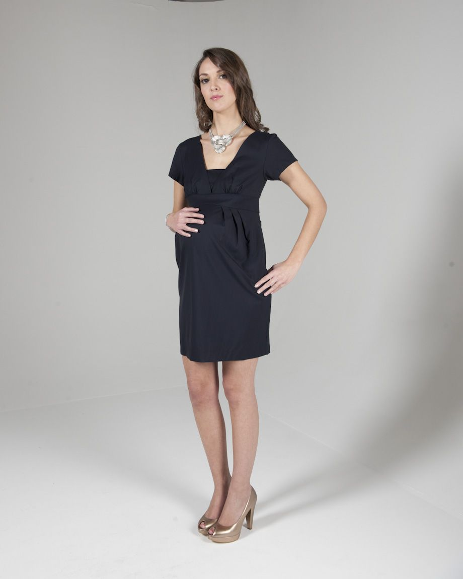 Eva Alexander Tailored Maternity Dress In Navy Rrp 175 5 Day